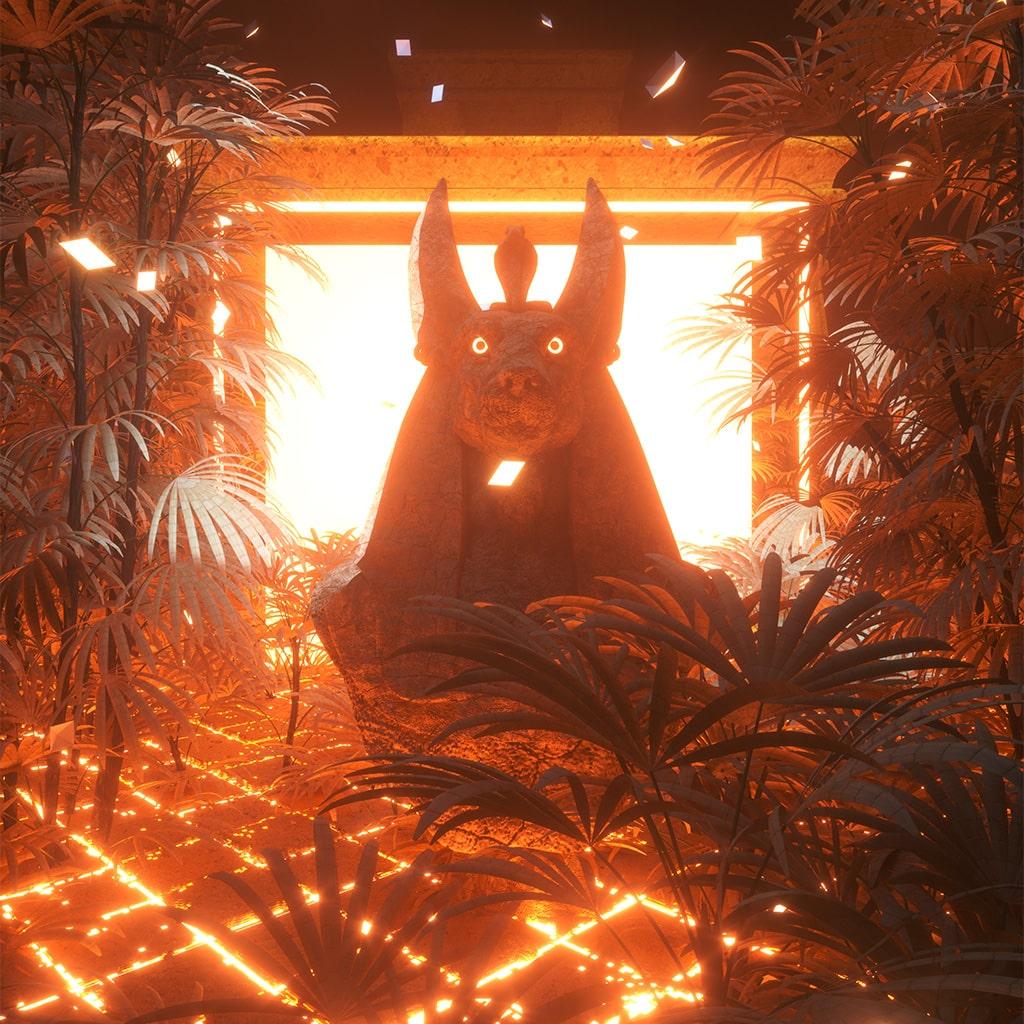 azproben-artwork-3D-music-anubis