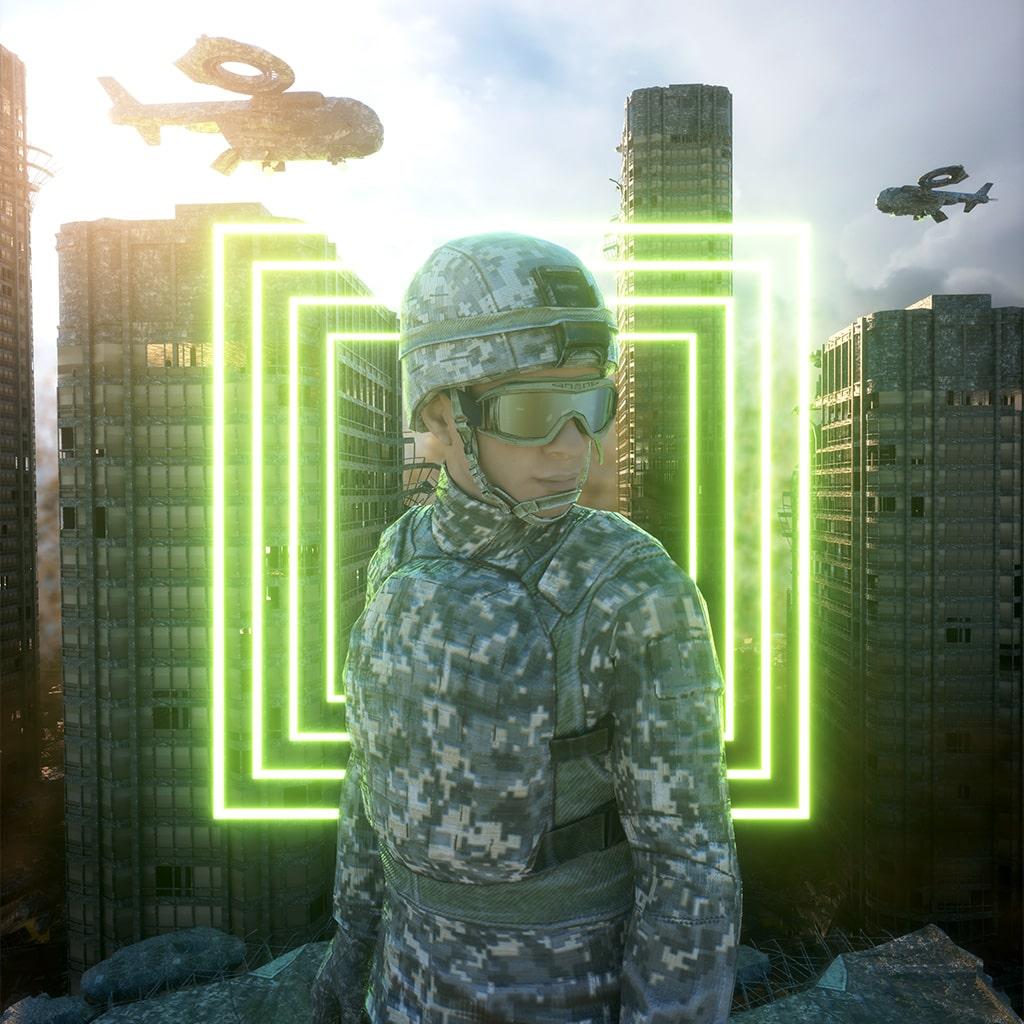 azproben-artwork-3D-music-war
